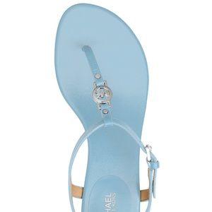 Michael Kors Cayla Mid Thong Sandals